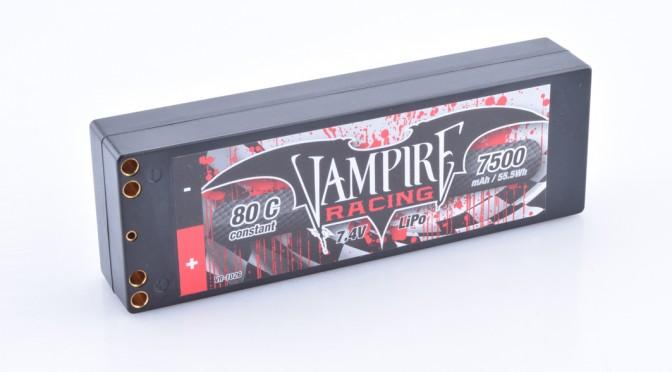 Neuer Hardcase LiPo-Pack von Vampire Racing