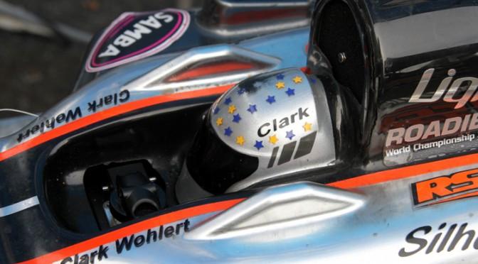 Knüppel oder Rad – Clark Wohlert kann beides