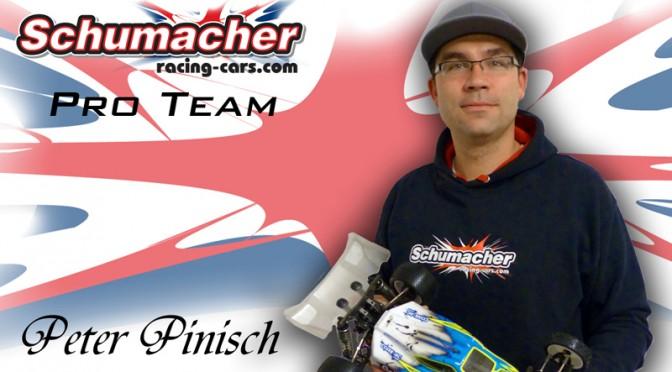 Peter Pinisch startet zukünftig für Schumacher Racing