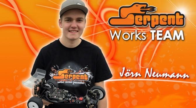 Jörn Neumann startet für Team Serpent