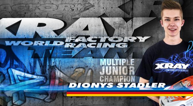 Dinoys Stadler fährt für Team Xray