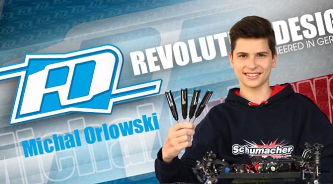 Michal Orlowski bindet sich an RDRP