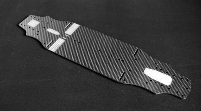 TRR produziert Chassisplatte für den Tamiya TRF 419
