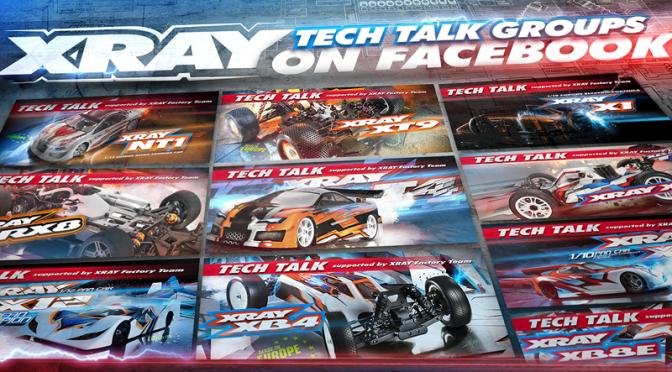 Tech Talk – neue Gruppen von Xray auf Facebook