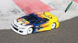 Die Mazda MPS Karosserie auf dem Pro 5