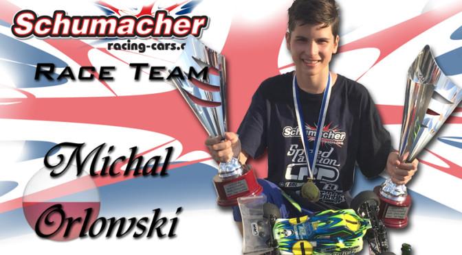 Michal Orlowski verlängert bei Schumacher Racing