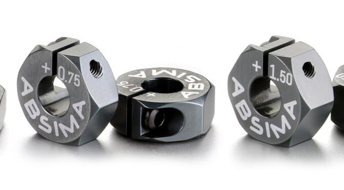 Neue Radmitnehmer aus Aluminium von Absima
