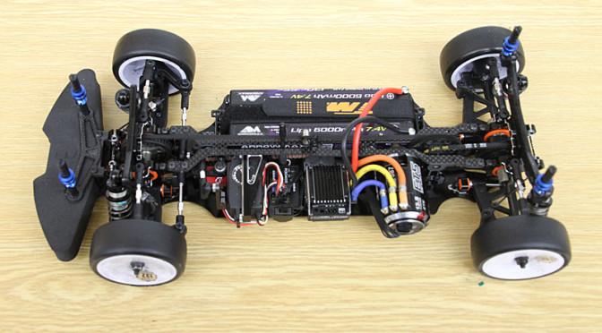 Upgrade-Kit für den Team Magic E4RS III
