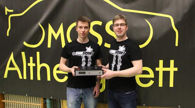 Jugend des MCSS Althengstett vermarktet Prüfgerät selbst