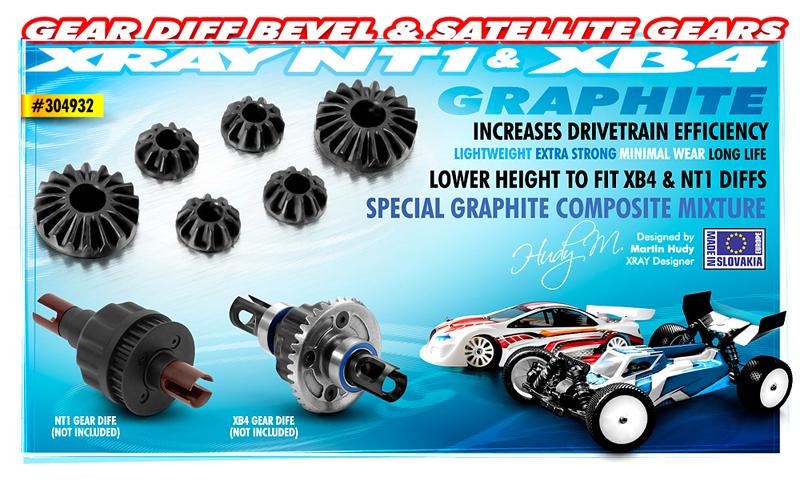v_304932 Gear Diff Bevel & Satellite Gears