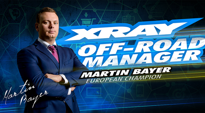 Martin Bayer – Offroad-Manager des Teams Xray