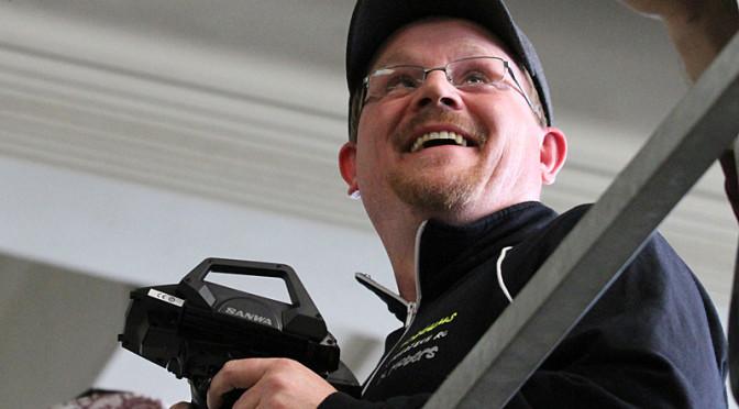 Markus Mobers testet den neuen Formel von WRC
