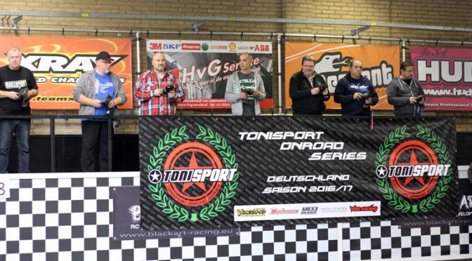 Tonisport Onroad Series dritter Lauf: Ellissen, Kreder & Weissbauer vorn