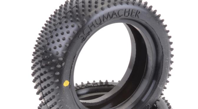 Neuer Mini Pin Vorderreifen von Schumacher