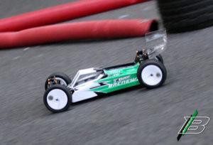 Der XB4 in der Racing Arena Limburg.
