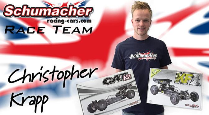 Christopher Krapp fährt in Offroad für Schumacher Racing