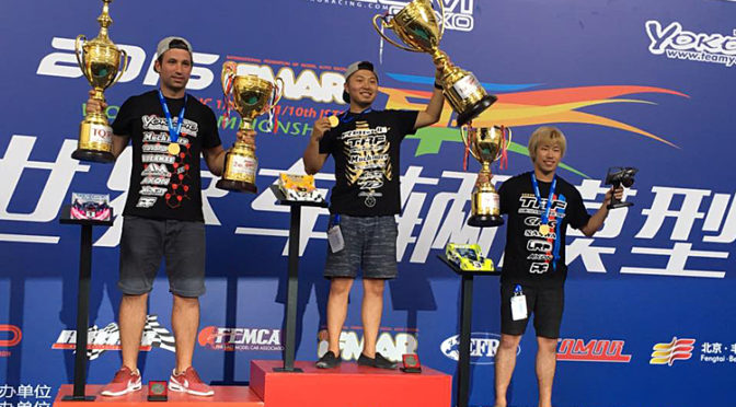 Naoto Matsukura holt sich WM-Titel zurück