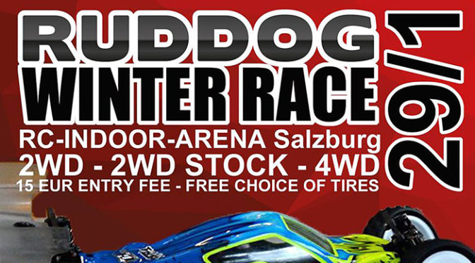 29. Januar 2017: Ruddog Winterrace in Salzburg