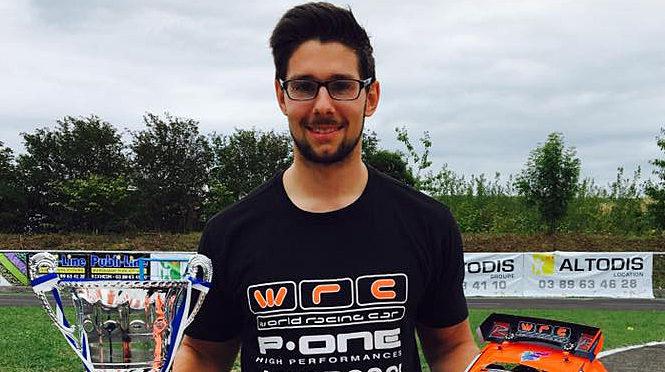Toni Gruber ist neuer Europameister Tourenwagen Scale Nitro