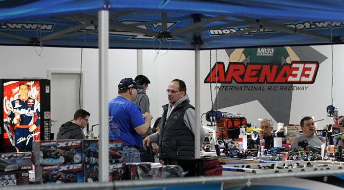 Dritter Lauf der Xray Racing Series 2017/2018 in der Arena 33