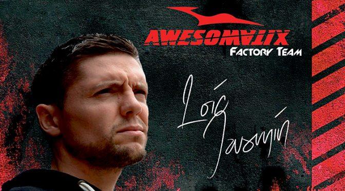 Loic Jasmin startet für Team Awesomatix