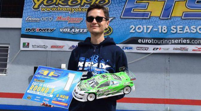 Großer Sieg für Alexander Hagberg beim ETS in Madrid 2018