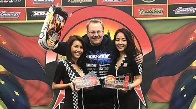 AOC Shanghai 2018: Jan Ratheisky gewinnt zwei Klassen