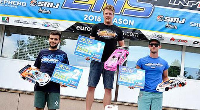 Dominic Greiner gewinnt ENS in Ettlingen