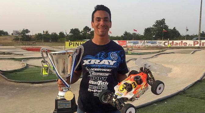 Bruno Coelho ist neuer Europameister Buggy 1:8 Nitro