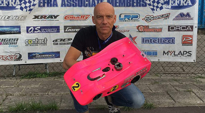 Michael Salven ist Europameister 40 plus in Nitro 1:8