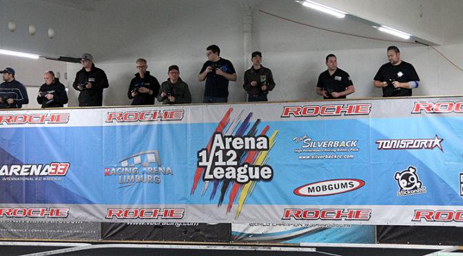 Doppelsieg für Ollie Payne beim dritten Lauf der Arena 1/12 League