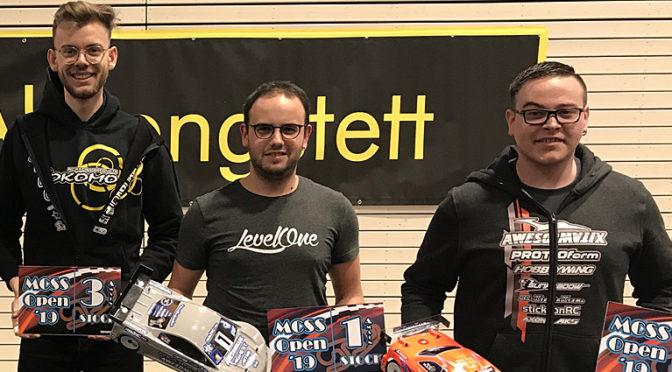 MCSS Open 2019 – Überraschender Sieg für Tobias Vogel in Sport 13,5T